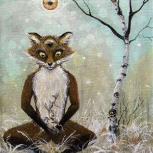 Compassion, fox, ræv, Lisbeth Thygesen