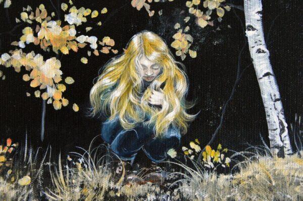 The dreamer, art print, kunst tryk, Lisbeth Thygesen