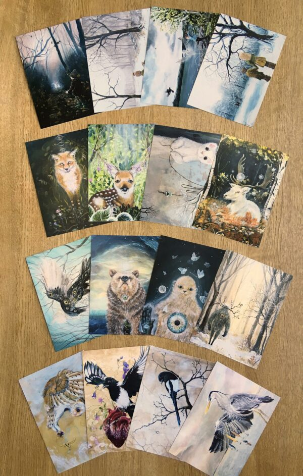 Postcards, postkort, Lisbeth Thygesen,