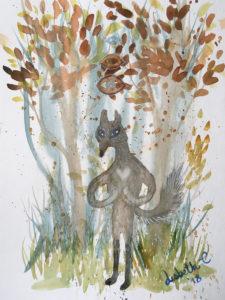 Original art: Wolf Love