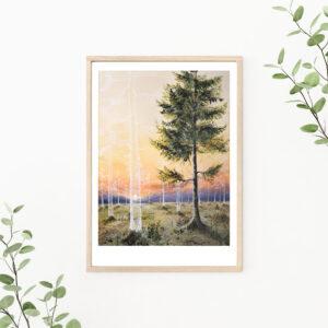 Gicleé, art print, kunsttryk, Lisbeth Thygesen