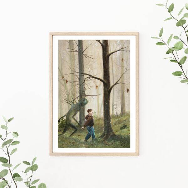 Sorrow, Gicleé, art print, kunsttryk, Lisbeth Thygesen