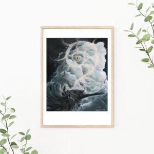 Surrender, Gicleé, art print, kunsttryk, Lisbeth Thygesen