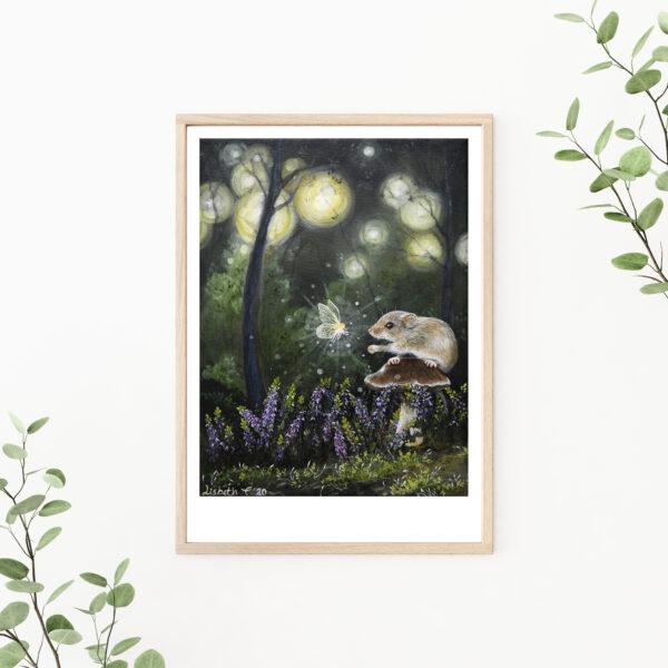 Trust, gicleé, art print, kunsttryk, Lisbeth Thygesen