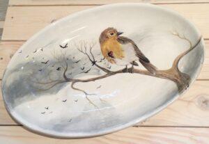 Ceramics: Robin