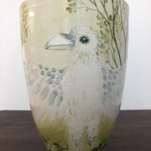 Vase, ceramics, Lisbeth Thygesen