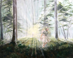The astonishing light, Lisbeth Thygesen