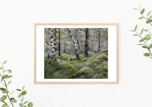 Lisbeth Thygesen, art print, kunsttryk