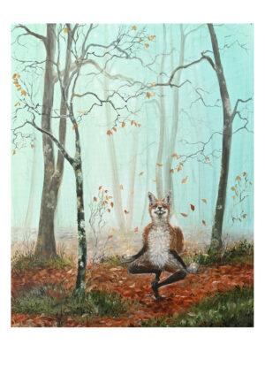 Peace Is Found within, art print, kunsttryk, Lisbeth Thygesen