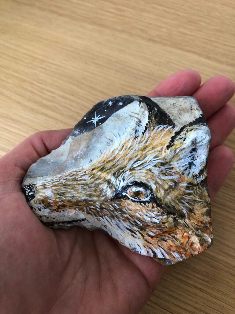 Healer sten, ræv, Lisbeth Thygesen