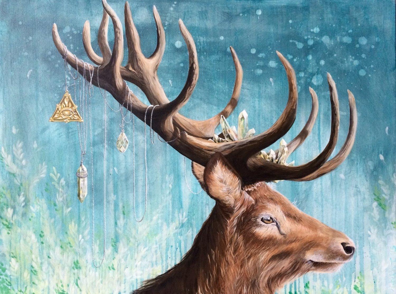 A dear deer - SOLGT