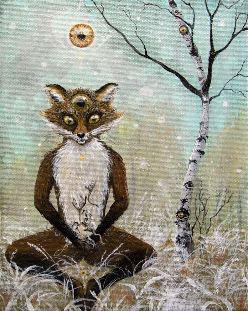 Compassionate fox