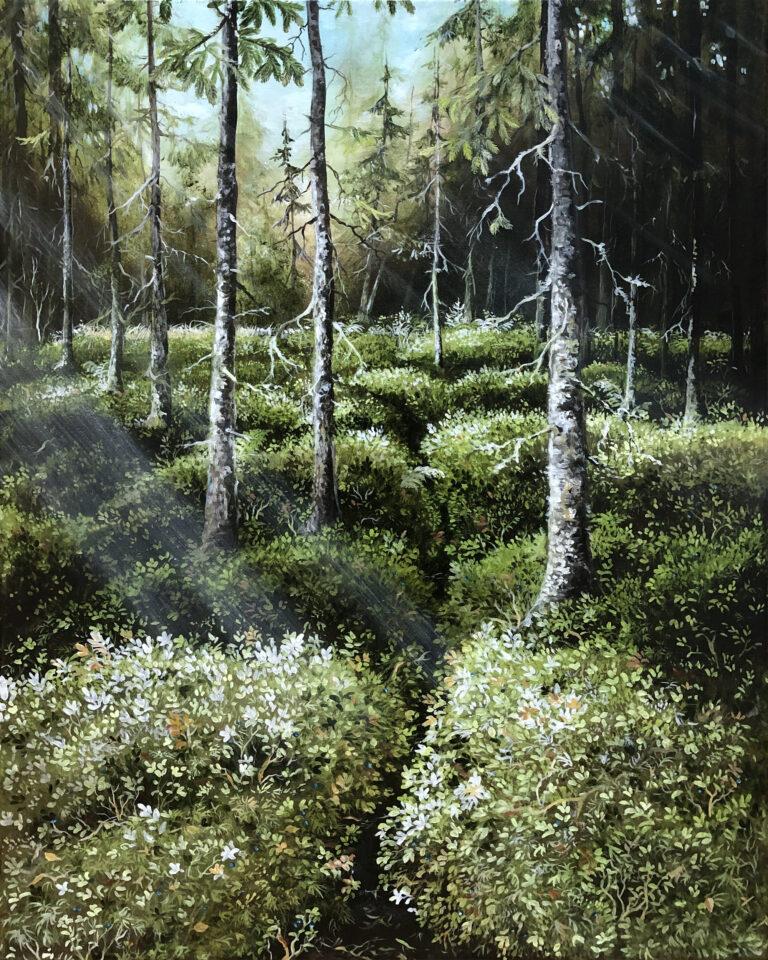 Lisbeth Thygesen, kunst, maleri